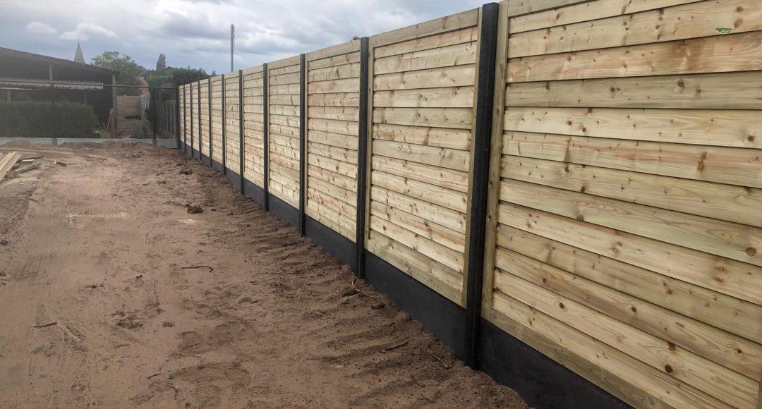 Projecten houten afsluitingen
